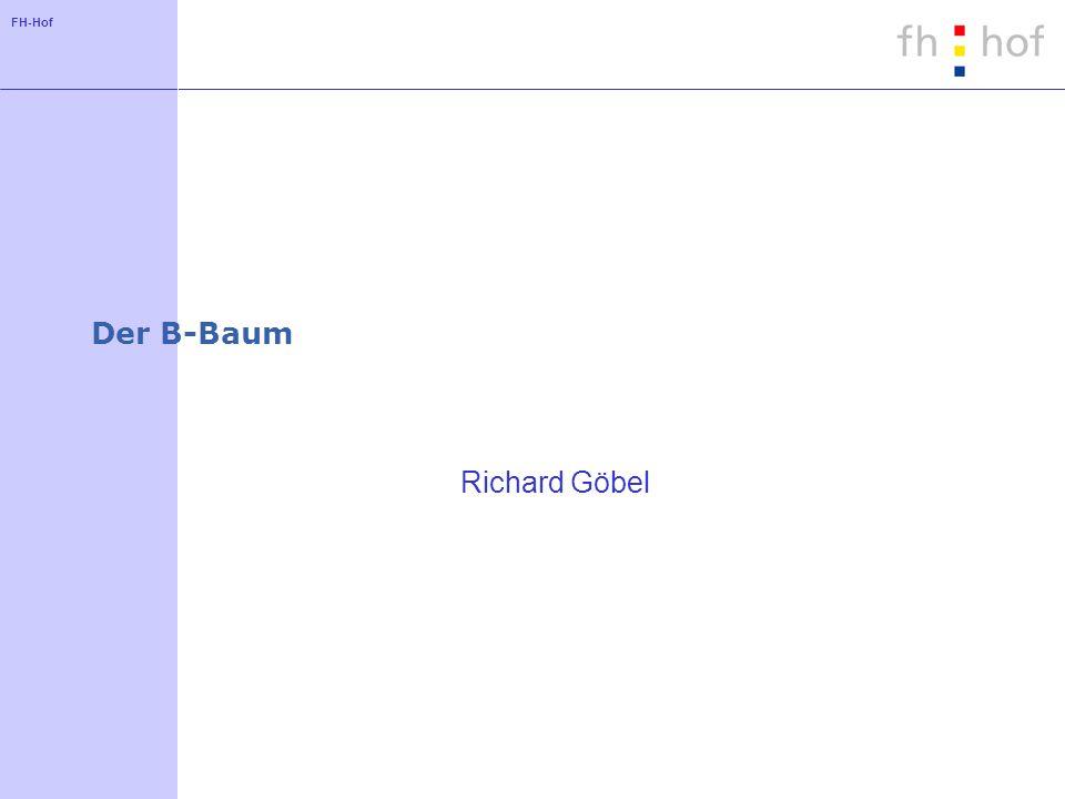 FH-Hof Der B-Baum Richard Göbel