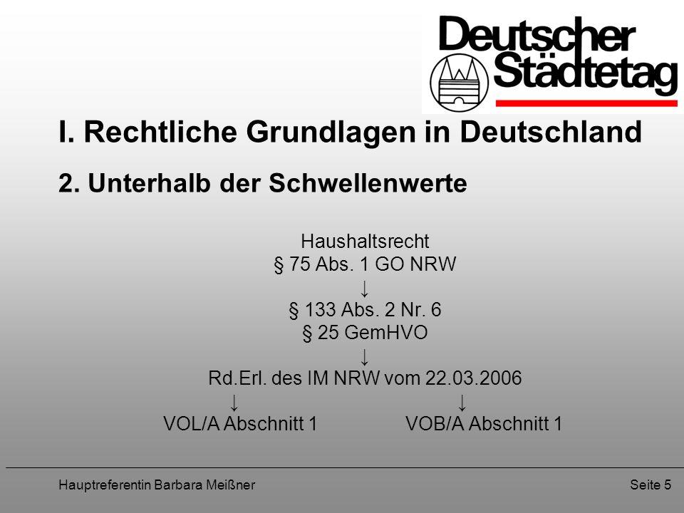 Hauptreferentin Barbara MeißnerSeite 16 V.