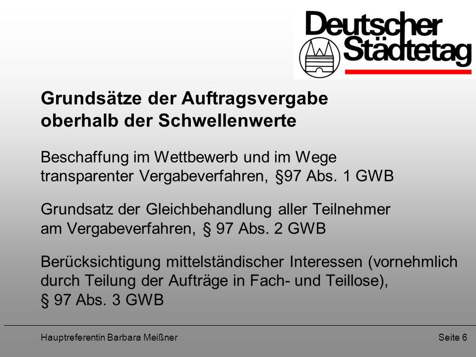 Hauptreferentin Barbara MeißnerSeite 17 VI.Durchsetzung der IAO-Kernarbeitsnormen 1.