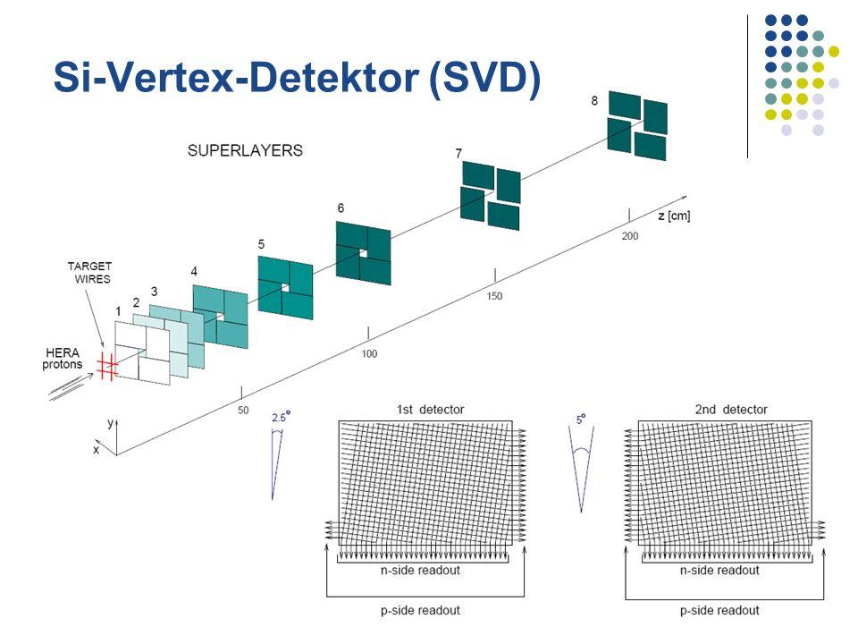 Si-Vertex-Detektor (SVD)