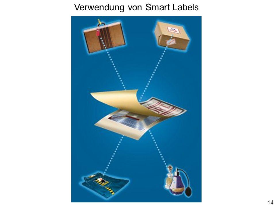 Verwendung von Smart Labels 14