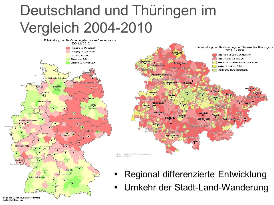 6 22.03.2012Die Demografiestrategie Thüringens / Andreas Minschke Bevölkerungsprognose bis 2030 (12.