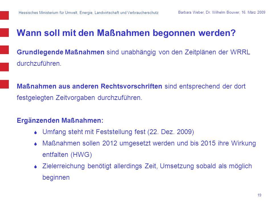 Hessisches Ministerium für Umwelt, Energie, Landwirtschaft und Verbraucherschutz 19 Barbara Weber, Dr.