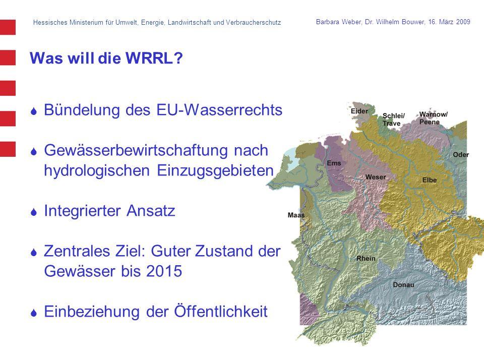 Hessisches Ministerium für Umwelt, Energie, Landwirtschaft und Verbraucherschutz 3 Barbara Weber, Dr.