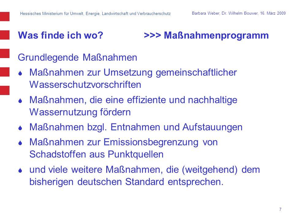 Hessisches Ministerium für Umwelt, Energie, Landwirtschaft und Verbraucherschutz 7 Barbara Weber, Dr.