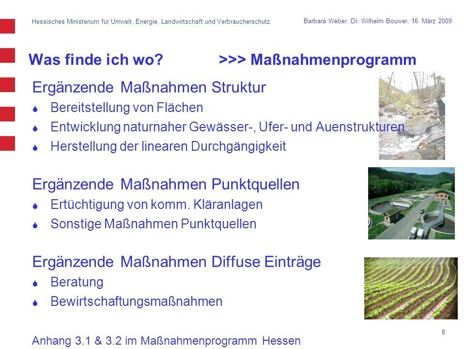 Hessisches Ministerium für Umwelt, Energie, Landwirtschaft und Verbraucherschutz 8 Barbara Weber, Dr.