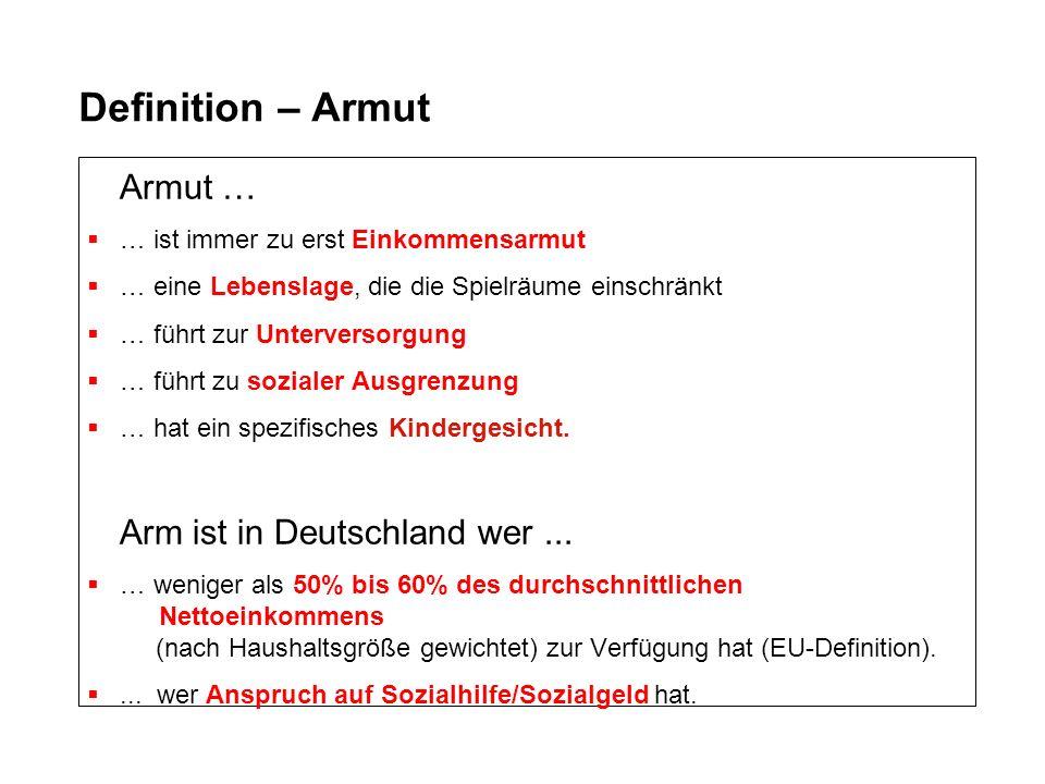 Kinder...arme Kinder... In Deutschland leben etwa...