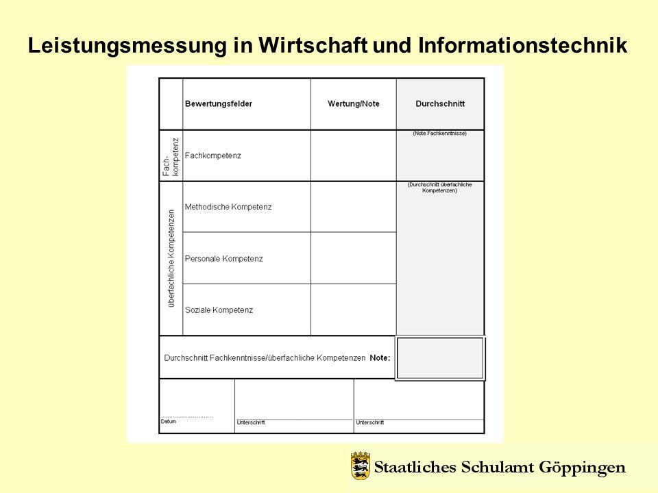 Leistungsmessung in Wirtschaft und Informationstechnik Selbstevaluation von Projekten http://www.schule-bw.de/entwicklung/qualieval/qualiabs/sevstart/eisneu/