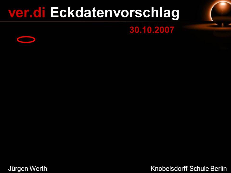 Jürgen Werth Knobelsdorff-Schule Berlin ver.di Eckdatenvorschlag 30.10.2007