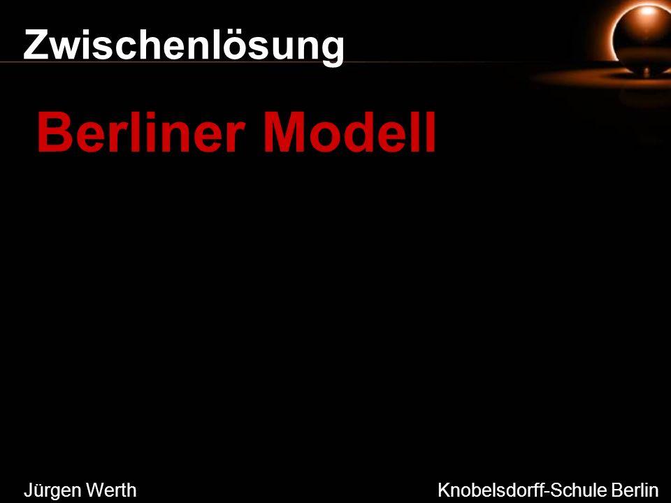 Zwischenlösung Jürgen Werth Knobelsdorff-Schule Berlin Berliner Modell