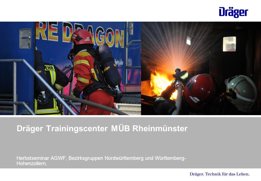 Dräger Trainingscenter MÜB Rheinmünster Herbstseminar AGWF, Bezirksgruppen Nordwürttemberg und Württemberg- Hohenzollern,