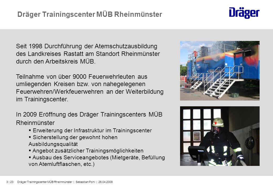 Dräger Trainingscenter MÜB Rheinmünster   Sebastian Pohl   26.04.200914   23 Notfallrettung Wie kann es zu einem Notfall kommen.