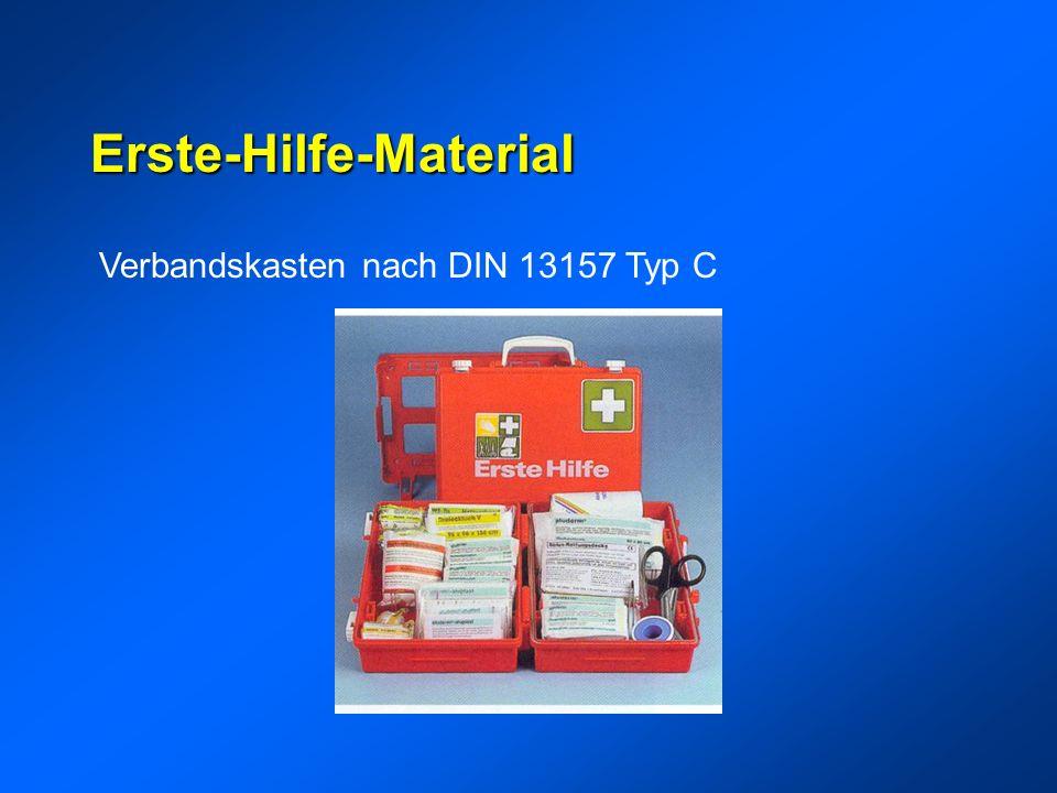 Erste-Hilfe-Material Verbandskasten nach DIN 13157 Typ C