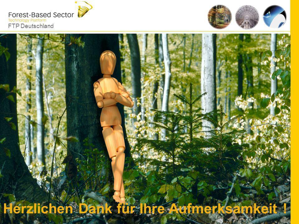 FTP Deutschland 22 Herzlichen Dank für Ihre Aufmerksamkeit ! www.forestplatform.de Herzlichen Dank für Ihre Aufmerksamkeit !