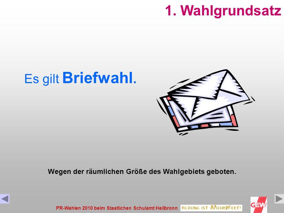 PR-Wahlen 2010 beim Staatlichen Schulamt Heilbronn9 Liste ABC Huber Hans Maier Maria Müller Monika Schmitt Sylvia Xxxxxx Xxxx Gruppe Beamte – Sie habe