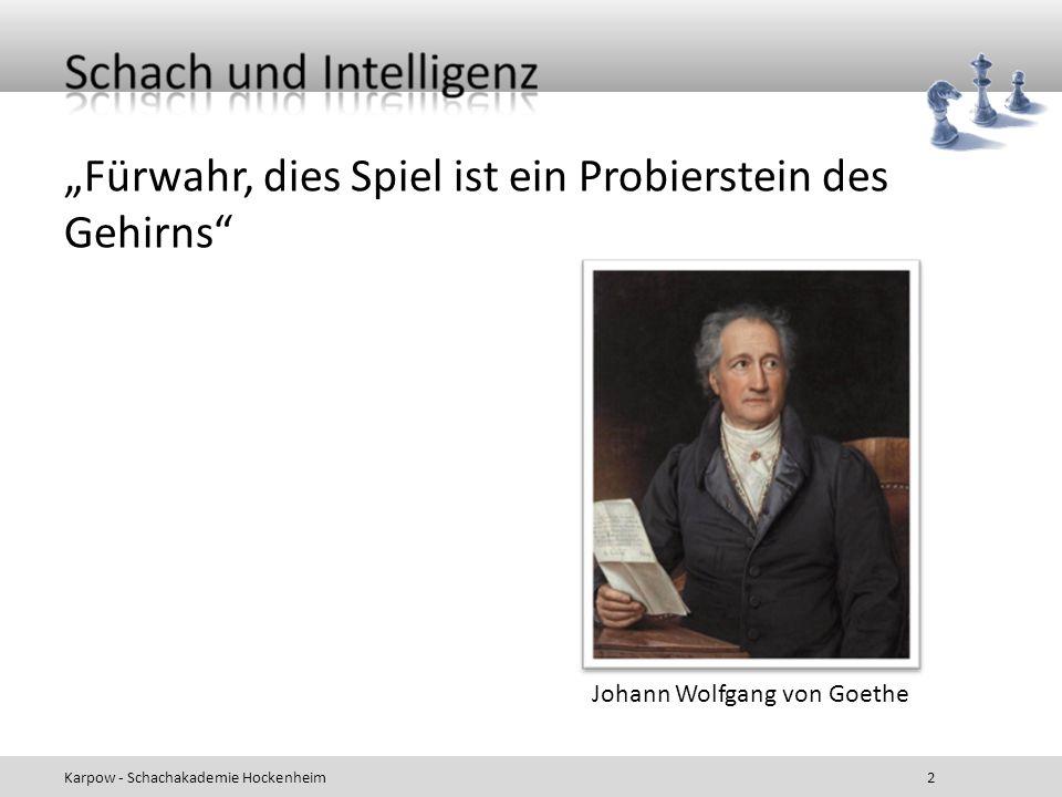 Karpow - Schachakademie Hockenheim 13