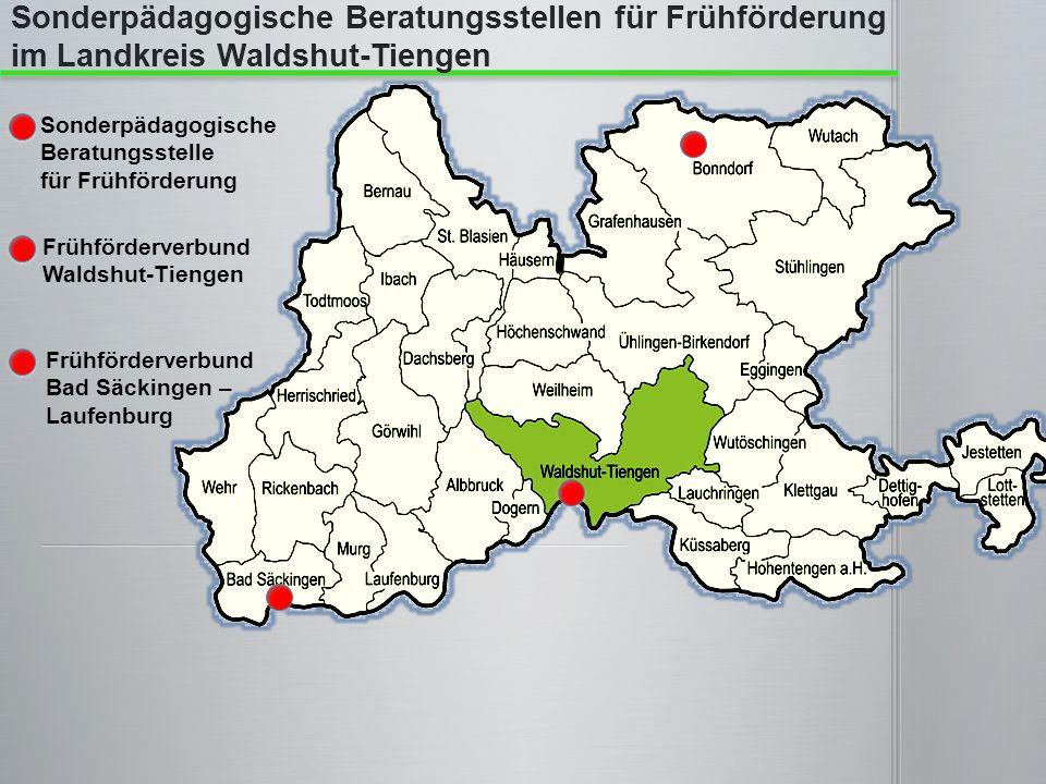 Sonderpädagogische Beratungsstelle für Frühförderung Frühförderverbund Waldshut-Tiengen Frühförderverbund Bad Säckingen – Laufenburg