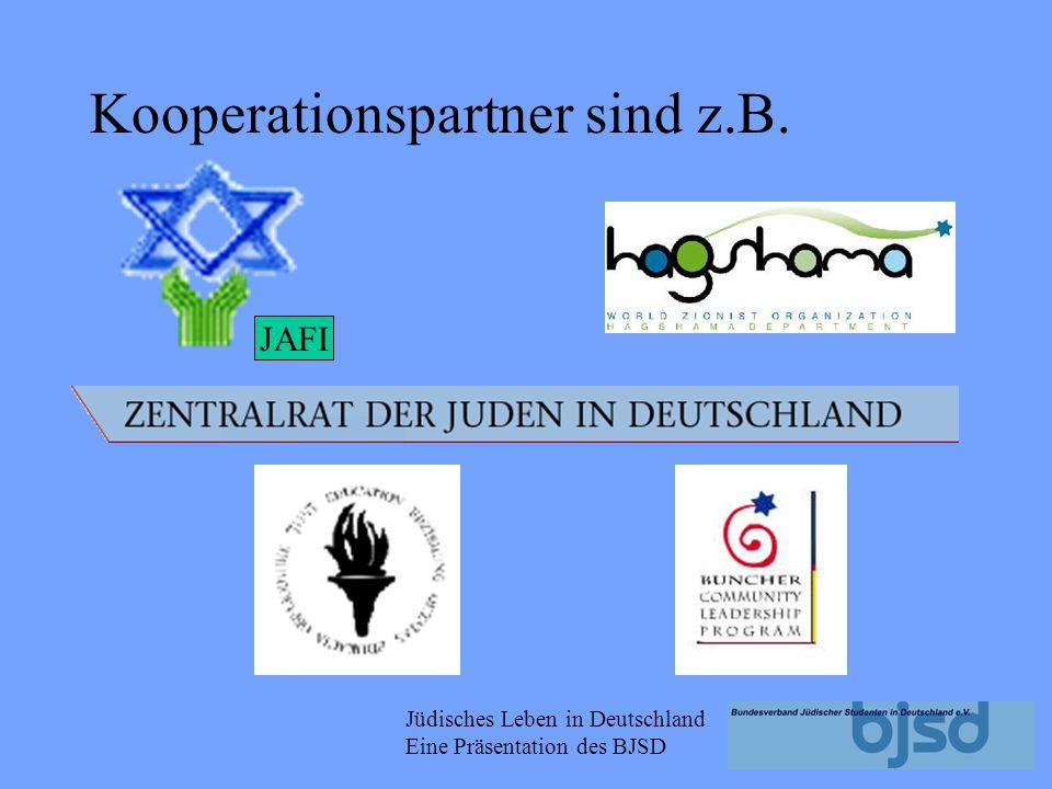 Jüdisches Leben in Deutschland Eine Präsentation des BJSD WUJS EUJS BJSD Basisdemokratisch organisiert Ziel ist die Stärkung der jüdischen Identität s