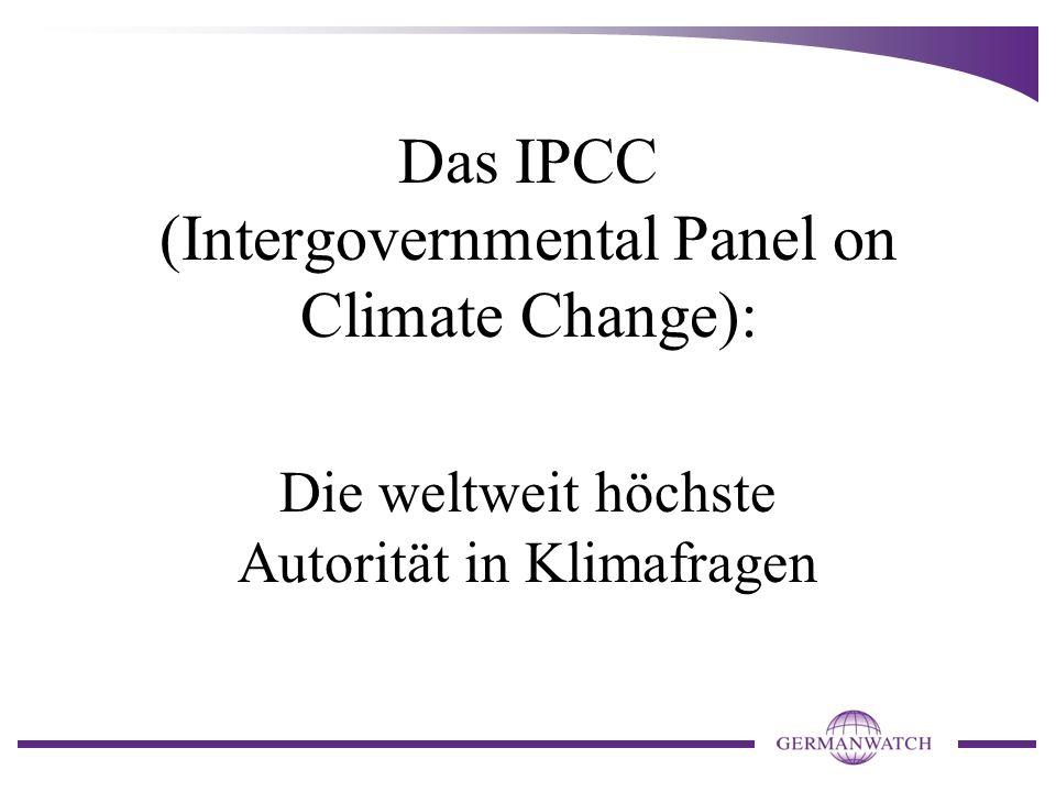 Das IPCC (Intergovernmental Panel on Climate Change): Die weltweit höchste Autorität in Klimafragen