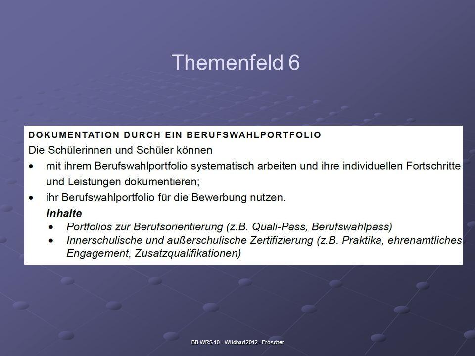 BB WRS 10 - Wildbad 2012 - Fröscher Themenfeld 6