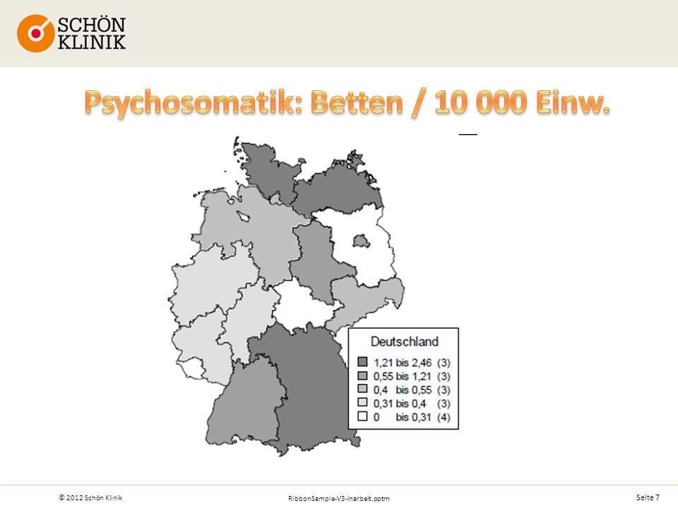 Seite 7 © 2012 Schön Klinik RibbonSample-V3-inarbeit.pptm
