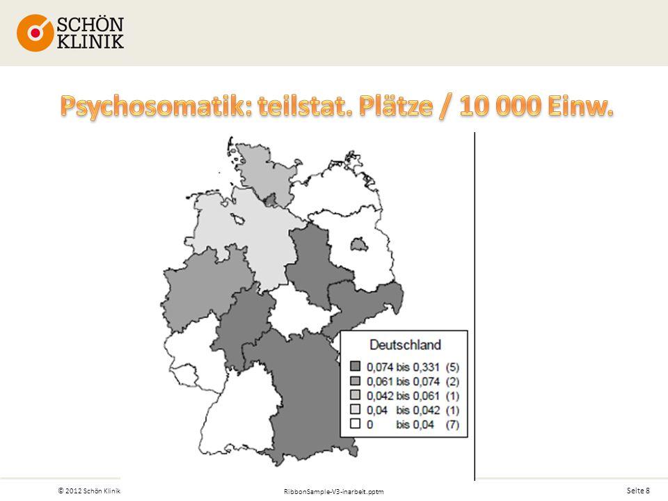 Seite 8 © 2012 Schön Klinik RibbonSample-V3-inarbeit.pptm