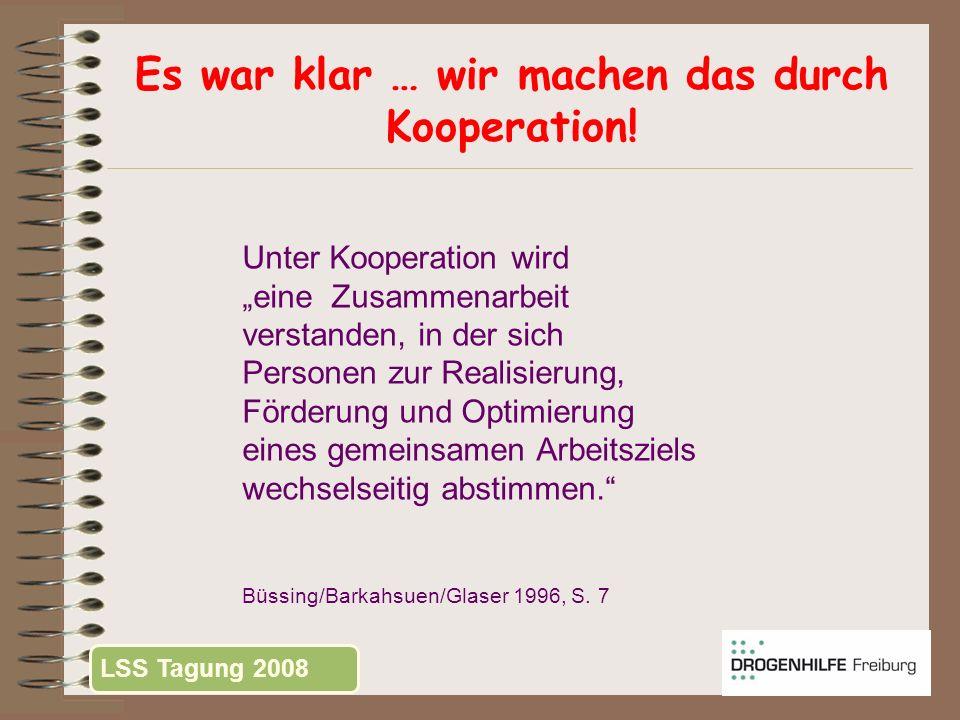 Kooperation = .Kooperation ist Zusammenarbeit.