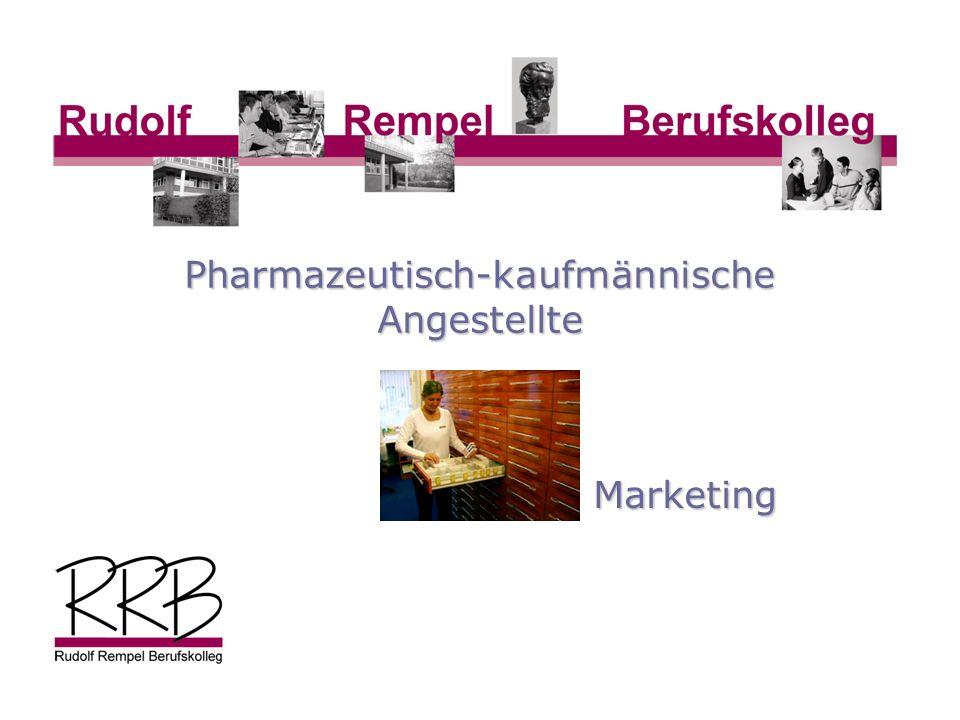 Marketing Pharmazeutisch-kaufmännische Angestellte