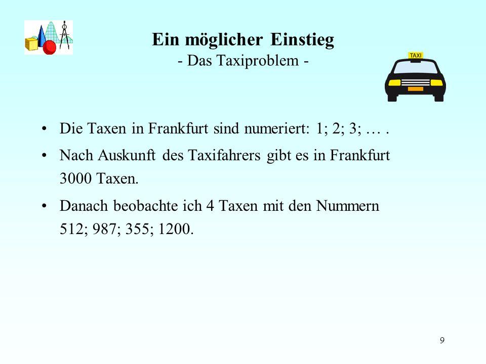 10 Das Taxiproblem