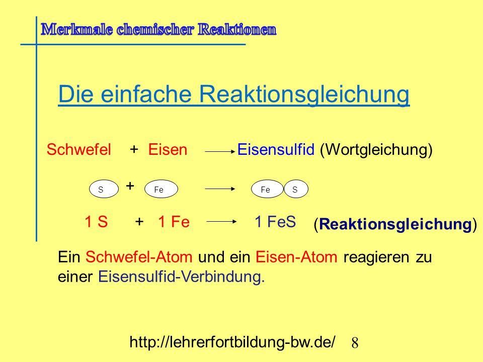 Übung : A1: Gib die Reaktionsgleichung von der Synthese von ZnS, MgS und der Analyse von PbS an.
