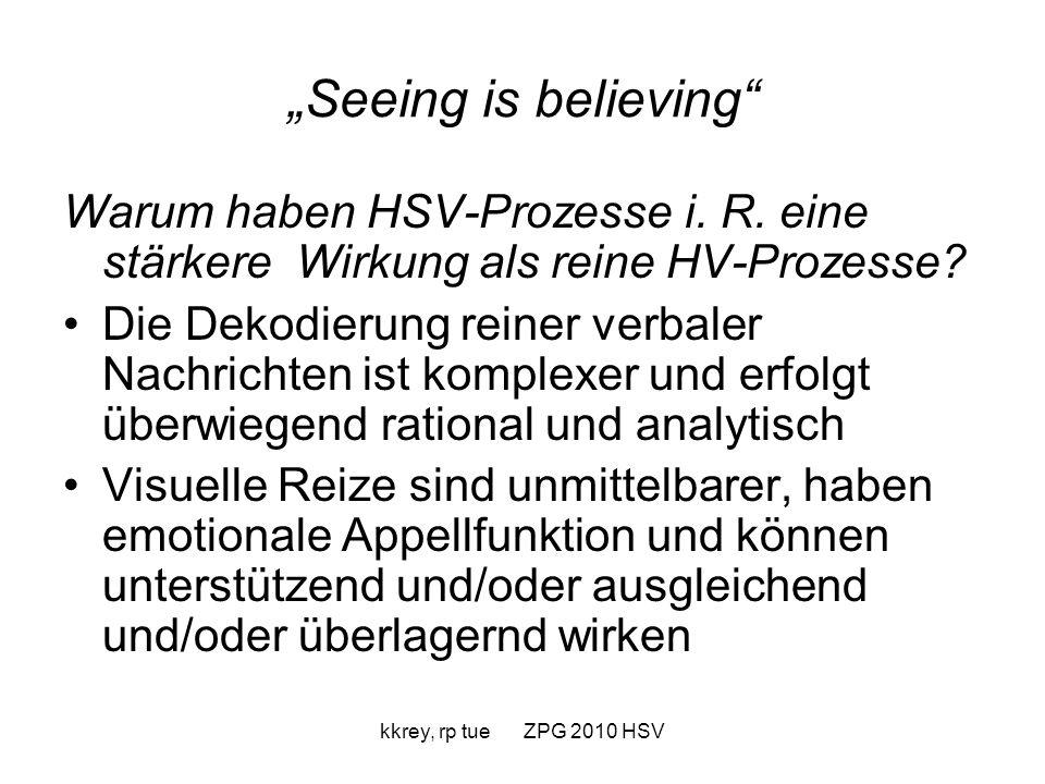 kkrey, rp tue ZPG 2010 HSV Erste Konsequenz für den Unterricht: Sprechanlässe Analytical Approach & Creative Approach