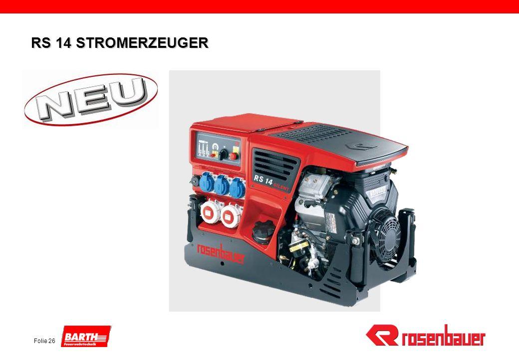Folie 26 RS 14 STROMERZEUGER