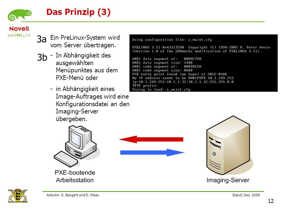 paed M L ® 3.0 Stand: Dez.2008 12 Autoren: D. Bangert und D.