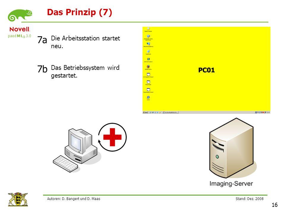 paed M L ® 3.0 Stand: Dez.2008 16 Autoren: D. Bangert und D.