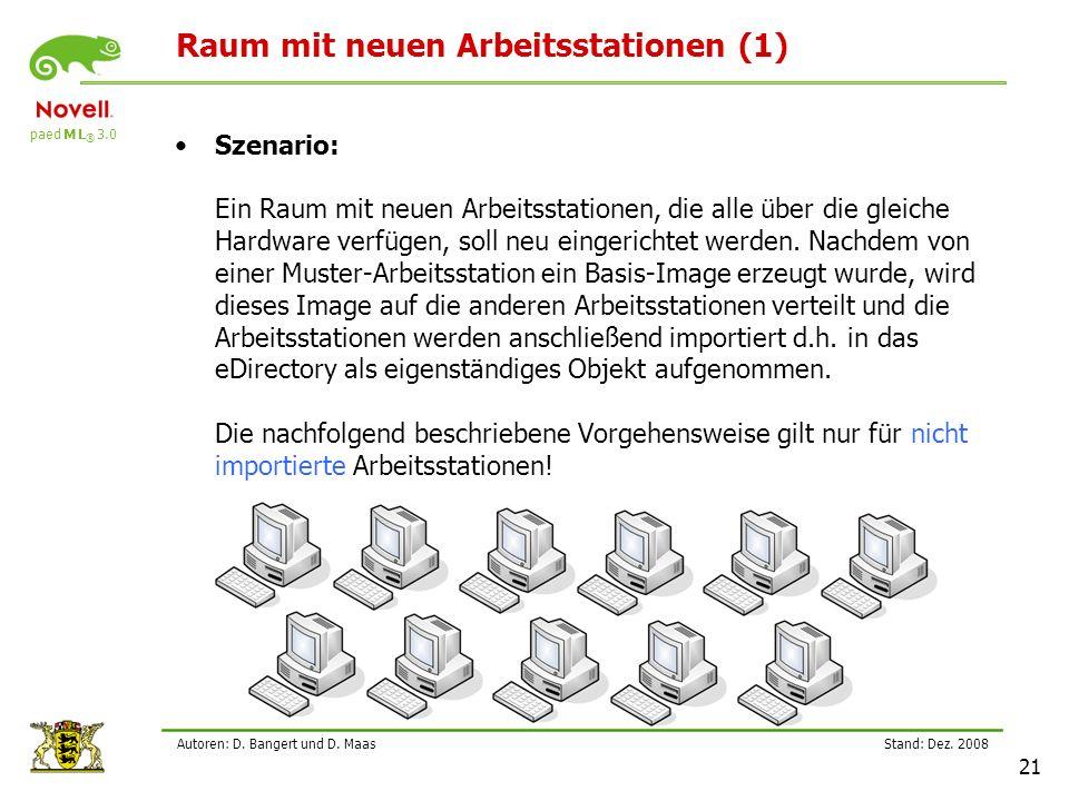 paed M L ® 3.0 Stand: Dez.2008 21 Autoren: D. Bangert und D.