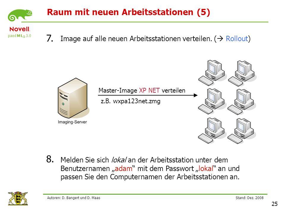 paed M L ® 3.0 Stand: Dez.2008 25 Autoren: D. Bangert und D.