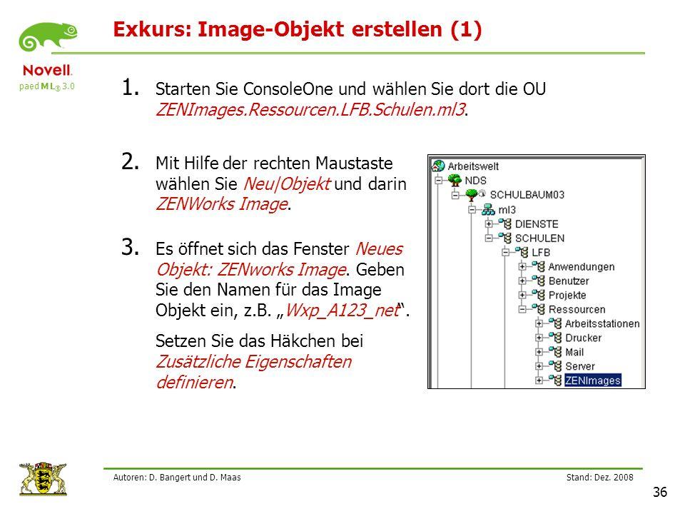 paed M L ® 3.0 Stand: Dez.2008 36 Autoren: D. Bangert und D.