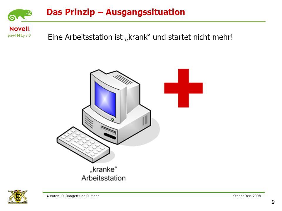 paed M L ® 3.0 Stand: Dez.2008 20 Autoren: D. Bangert und D.