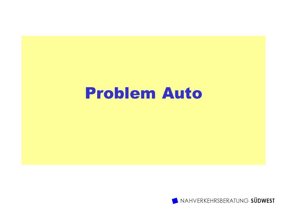 NAHVERKEHRSBERATUNG SÜDWEST Problem Auto