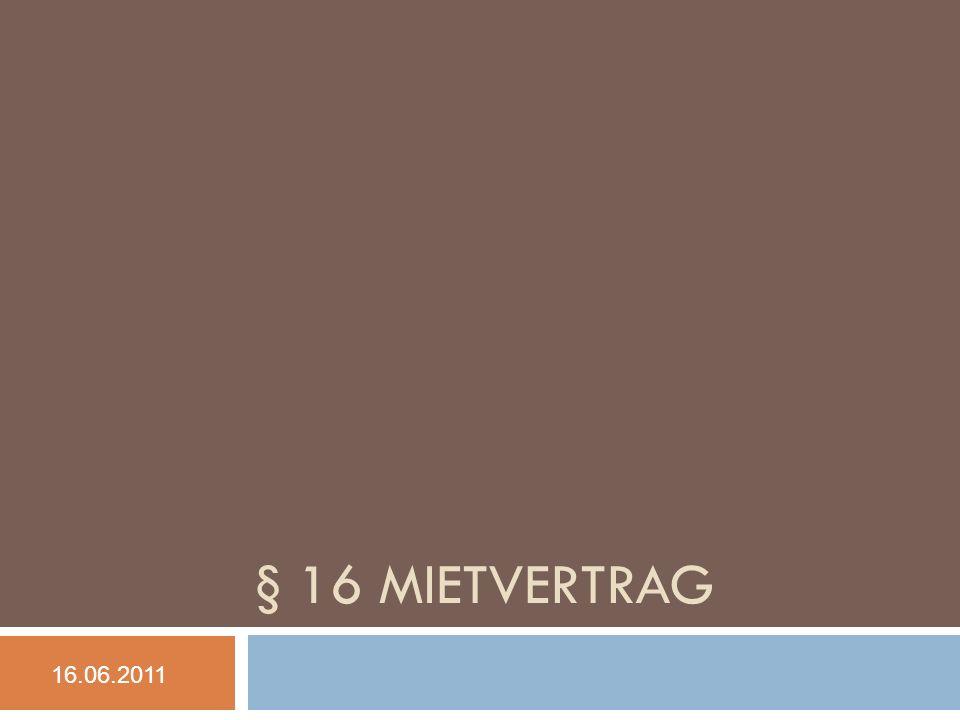 Mangel der Mietsache 22 BGH NJW 2006, 899 (stRspr): […] ist unter einem Mangel […] die für den Mieter nachteilige Abweichung des tatsächlichen Zustands der Mietsache von dem vertraglich geschuldeten zu verstehen, wobei sowohl tatsächliche Umstände als auch rechtliche Verhältnisse in Bezug auf die Mietsache als Fehler [= Mangel] in Betracht kommen können.