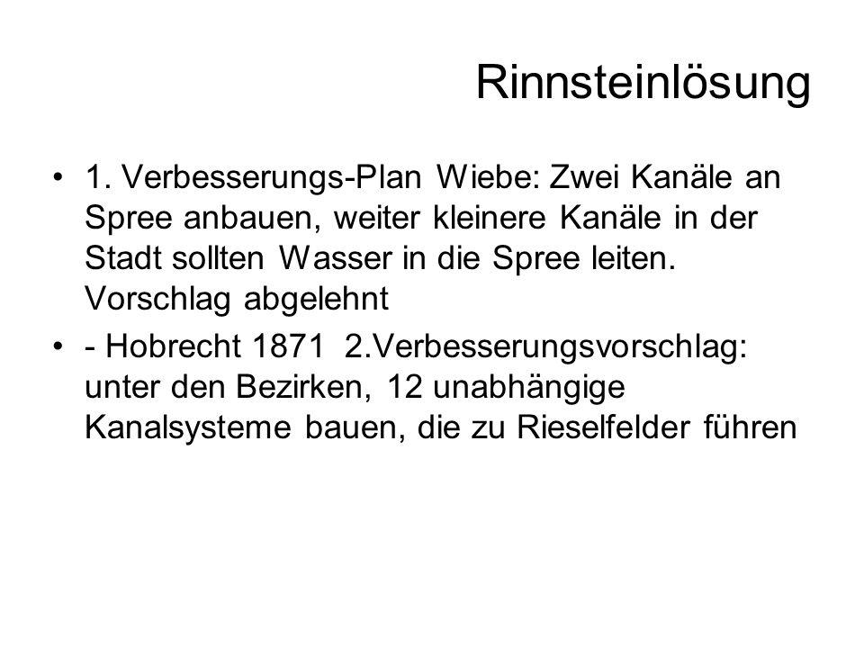 Rinnsteinlösung 1.