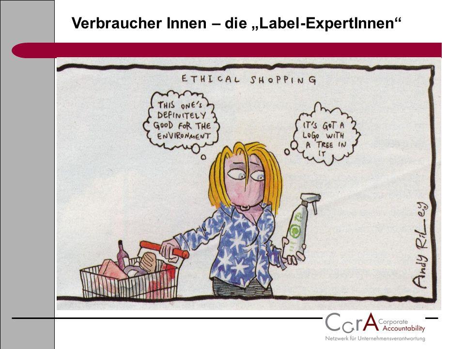 Verbraucher Innen – die Label-ExpertInnen