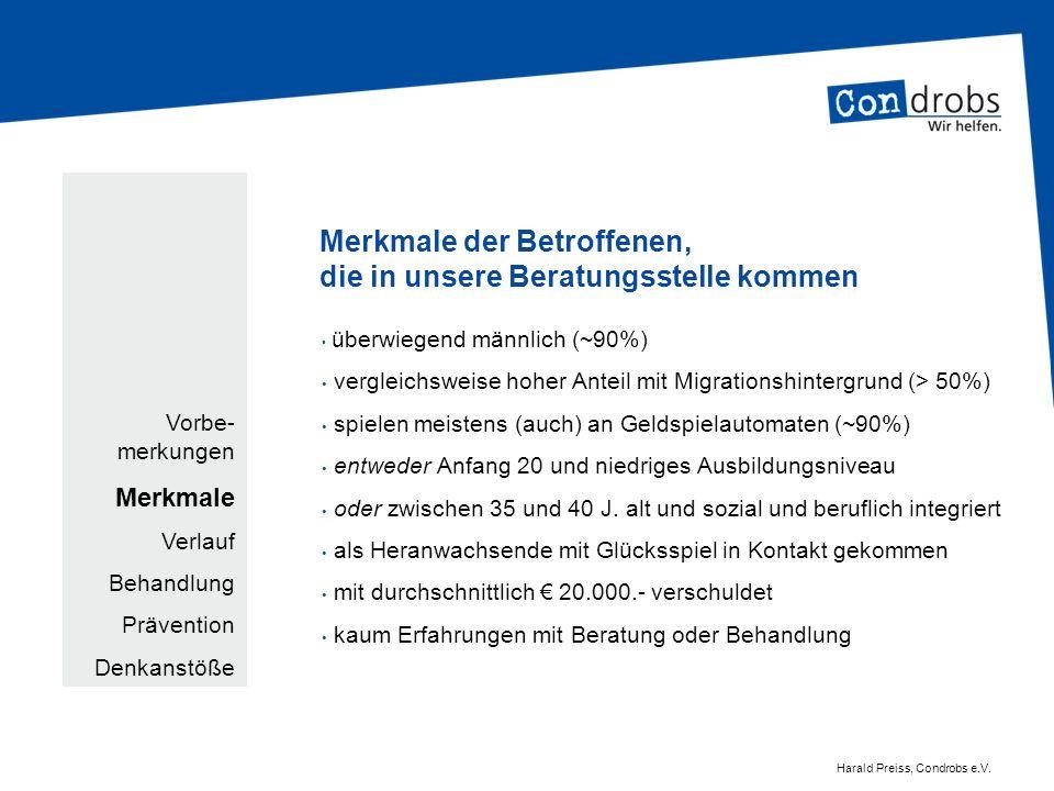 problematisches Glücksspiel – Handlungsfelder für Politik und Anbieter.