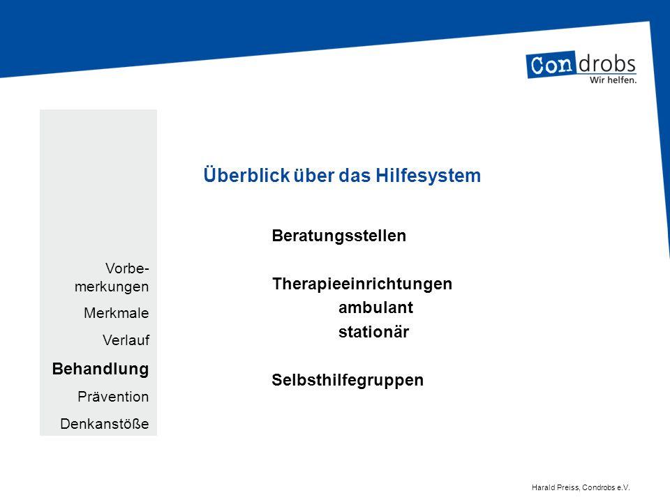Epidemiologie für Deutschland beispielsweise: Deutsche Hauptstelle für Suchtfragen e.V.
