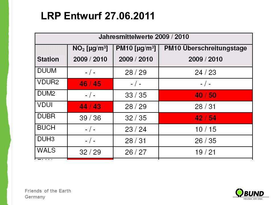 Friends of the Earth Germany Duisburg – die am höchst belastet Stadt im Ruhrgebiet Und wo sind die Sondermaßnahme für Duisburg ?