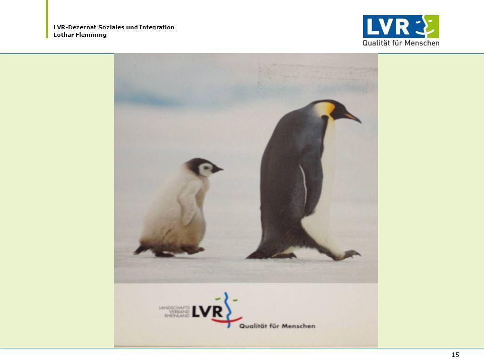LVR-Dezernat Soziales und Integration Lothar Flemming 15