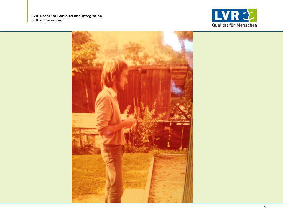 LVR-Dezernat Soziales und Integration Lothar Flemming 5