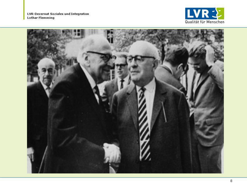 LVR-Dezernat Soziales und Integration Lothar Flemming 8