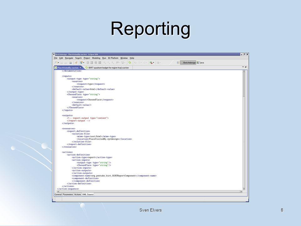 8 Reporting