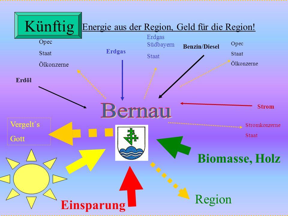 Erdöl Opec Staat Ölkonzerne Erdgas Erdgas Südbayern Staat Strom Stromkonzerne Staat Benzin/Diesel Opec Staat Ölkonzerne Biomasse, Holz Region Vergelt´